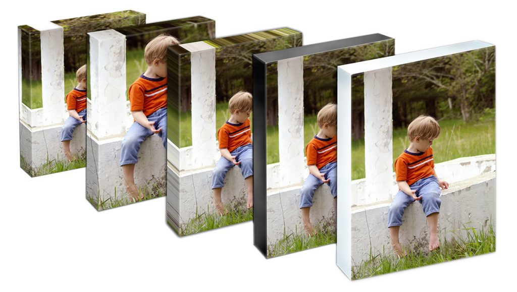 impression sur toile monté sur faux-cadre de bois